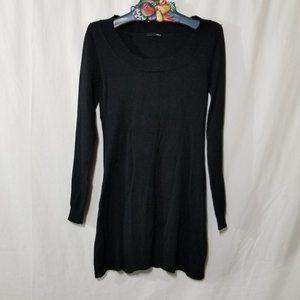 H&M black knit mini dress